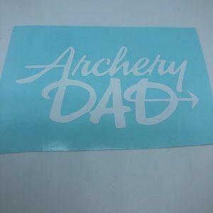 Archery Dad vinyl decal